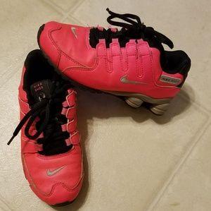 Girls Size 1 Nike Shox
